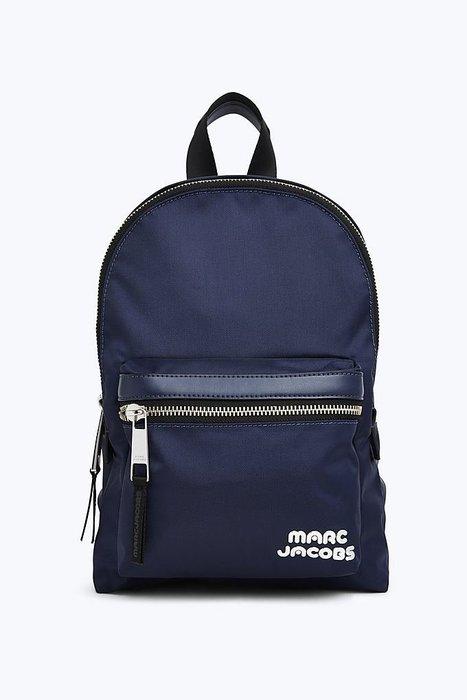 Coco 小舖 MARC JACOBS Trek Pack Medium Backpack 深藍色尼龍後背包
