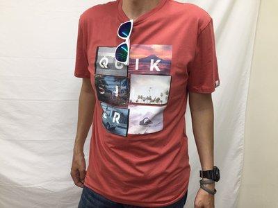 [阿菊潮流工作室]Quiksilver Local Motive T-Shirt M號 L號 任您挑選[免運費]