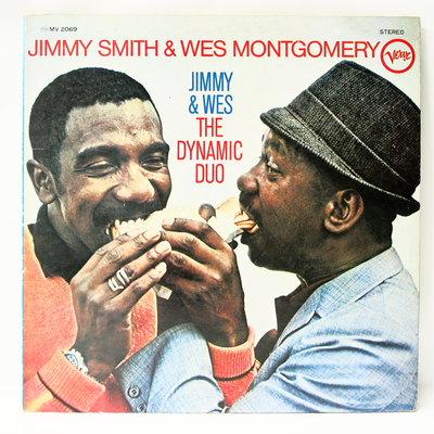 爵士黑膠 Jimmy & Wes【The Dynamic Duo】日本版
