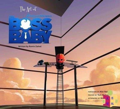 [文閲原版]寶貝老板設定集 娃娃老板 英文原版 The Art of The Boss Baby Ramin Zahed