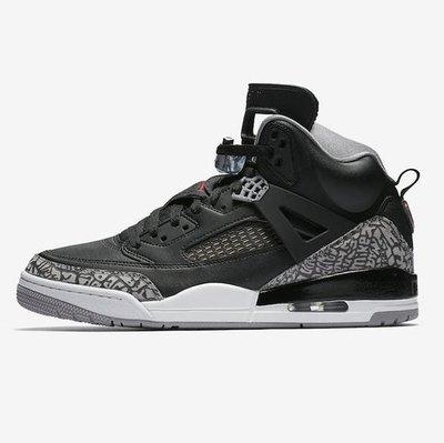 R'代購 Jordan Spizike Black Cement 黑水泥 黑白紅 爆裂紋 3  4 6 眾神合體 315371-034