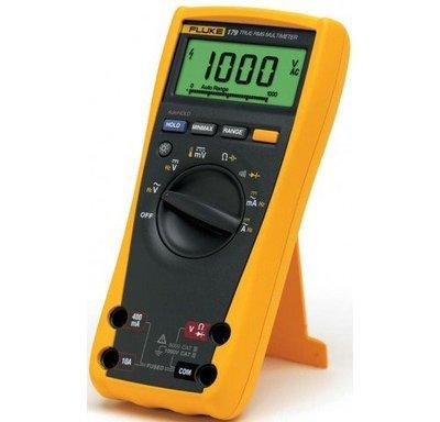 TECPEL 泰菱 》FLUKE 179 三用電表 電表 溫度 福祿克 FLUKE179 刷卡 含稅 背光
