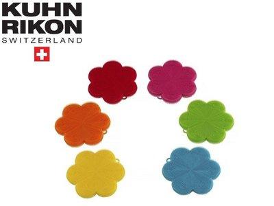 瑞康 Kuhn Rikon 15cm*2cm 花形 矽膠菜瓜布 KHN-M23022 菜瓜布 菜瓜布 耐用 衛生 環保