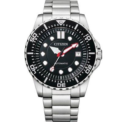 【金台鐘錶】CITIZEN 星辰 (水鬼) 潛水機械錶 時尚男錶 100米防水 43mm NJ0120-81E 台北市