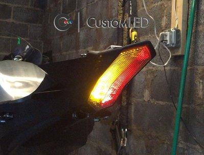 【Custom LED】YAMAHA YZF R1 R1M YZF-R1 整合式 尾燈 方向燈 爆閃燈 15-17