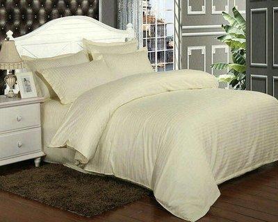 居家家飾設計 飯店 民宿寢具系列-特價 1cm條紋100%純棉多色150cm*210cm被套