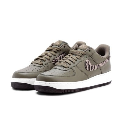 =CodE= NIKE AIR FORCE 1 AOP PRM CAMO 皮革籃球鞋(綠迷彩)AQ4131-200 預購