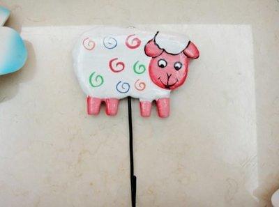 Y【永晴峇里島】巴里島風綿羊造型掛勾,衣架,居家、民宿、飯店都好用-掛勾13@