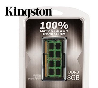 《SUNLINK》KINGSTON 金士頓 DDR3 1600 8G DDR3L (1.35v低電壓) 筆電專用記憶體