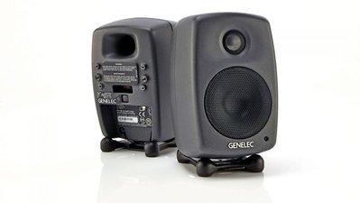 造韻樂器音響- JU-MUSIC - GENELEC 8010A 3吋 監聽喇叭 主動式 電腦喇叭 一對 黑色 8010