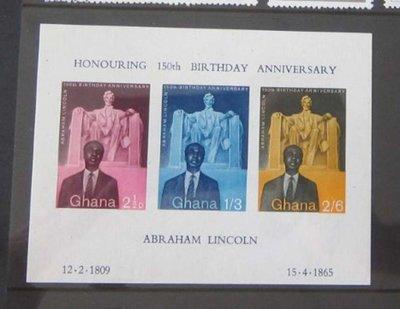 【雲品二】加納Ghana Sc 411 The Statue of Liberty MNH 庫號#B301 50284