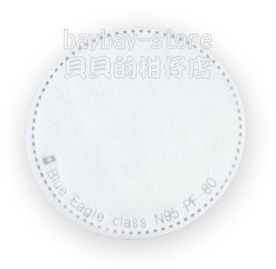 (安全衛生)藍鷹牌超細纖維防塵片PF-80_100%台灣製符合NIOSH N95標準_美規零售區