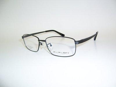 光寶眼鏡城(台南) AVALON 純鈦IP眼鏡,,加寬,特長腳150mm彈簧腳 /A15121/C10 黑色