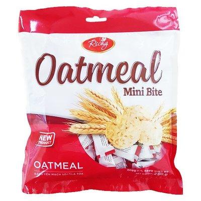 #悠西將# {現貨} 韓國 Richy Oatmeal Mini Bite 迷你 燕麥餅乾 燕麥糖 韓國燕麥 穀麥