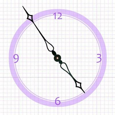 【鐘點站】H161115 SKP鎖針機芯指針 / DIY 時鐘 掛鐘 鐘針/分針16.1公分時針11.5公分