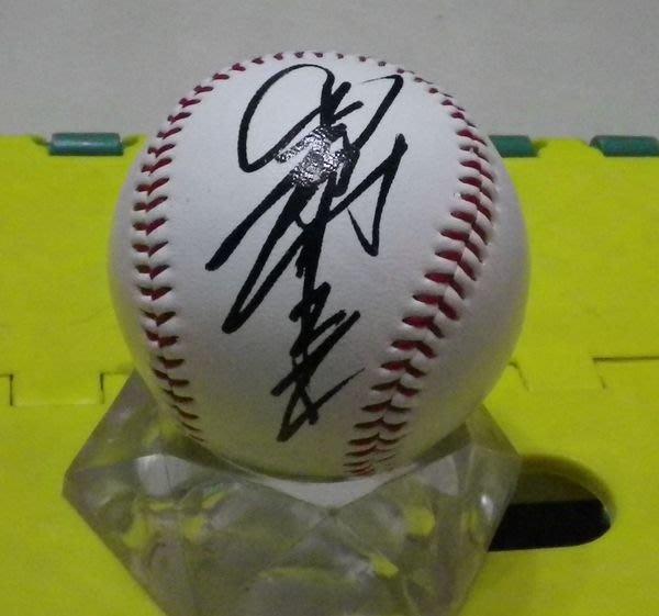 棒球天地--5折賠錢出--日本職棒野球殿堂養樂多燕子 關根潤三 簽名球.字跡漂亮
