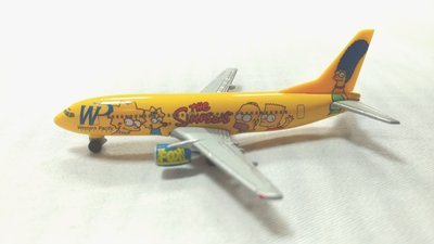 Western Pacific B737 Simpsons金屬模型機