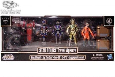 金錢貓雜貨 全新 Star Wars 星際大戰 3.75吋 Star Tours Travel Agency