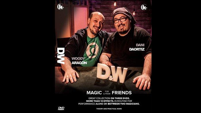 [魔術魂道具Shop]D & W (Dani and Woody) by Grupokaps