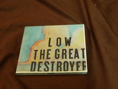 【低價起標】【2手 CD 】 LOW 低迷樂隊 THE GREAT DESTROYER 巨大的毀滅者 獨立搖滾樂團