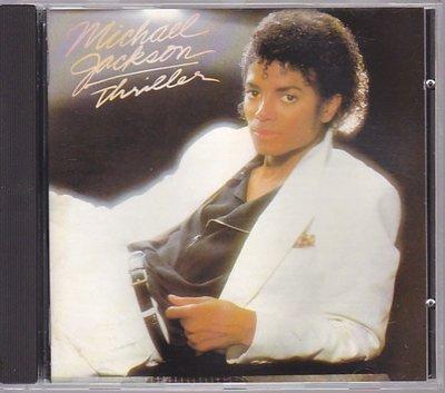 【樂購音樂館】麥克傑克森~MICHAEL JACKSON~THRILLER顫慄~1982年發行進口版~原版CD無IFPI