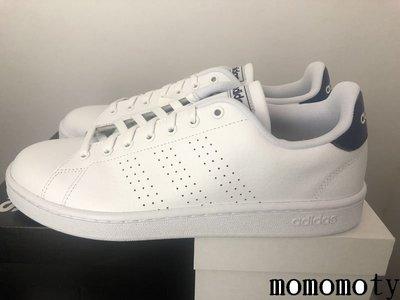 ADIDAS ADVANTAGE 白藍 深藍 全白 白色 皮革 休閒鞋 學生鞋 F36423 請先詢問庫存