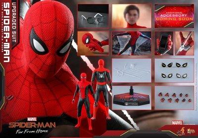 早期15/7訂單Hot Toys hottoys 紅黑gg Spider-Man 蜘蛛俠 spiderman(Upgraded Suit 升級戰衣)