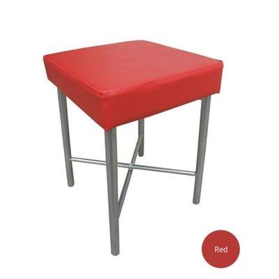 6期0利率【含發票】7公分厚泡棉沙發椅座【2件組】洽談椅-主管椅-辦公椅-露營椅-野餐椅-釣魚椅JM-J0050A紅色