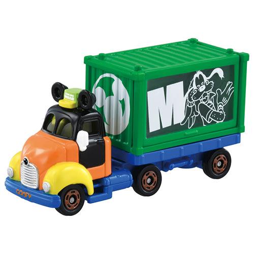 【附發票 3C小苑】DS15649 麗嬰 正版 迪士尼 DM 經典 DREAM 貨櫃小車-高飛 經典夢想車 高飛 貨櫃車