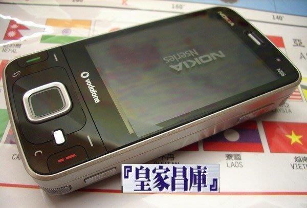 『皇家昌庫』Nokia N96 超強機王 內建16G N-GAGE+MAP 芬蘭機 破解簽證+附導航軟體 終極錄音