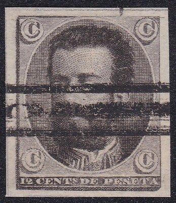 西班牙1872『樣票 ESSAY - 亞瑪迪斯皇帝』百年古典新票
