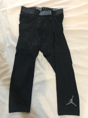 (售出) 全新 NIKE AJ Air Jordan legging 健身七分褲 訓練排汗運動 M 724777 010