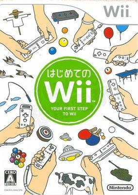 【全新未拆】Wii 第一次接觸 Wii Play 日文版 日規台規通用【台中恐龍電玩】
