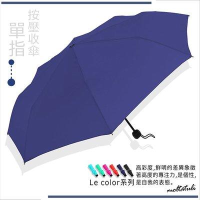 【指.按.收】LeColor_抗UV晴雨傘 (深藏青) / 雨傘UV傘防風傘折疊傘折傘防潑水傘撥水傘