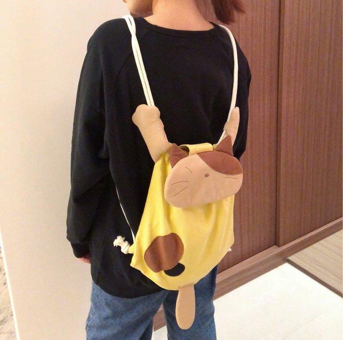 日本卡拉貓~Gon醬抱抱輕便型束口後背包