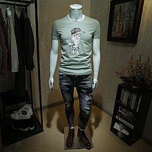 男生短袖韓版潮流男 男士t恤青年修身款百搭韓版印花半袖