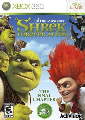 【二手遊戲】XBOX360 史瑞克快樂 4 神仙 Shrek Forever After 英文版【台中恐龍電玩】
