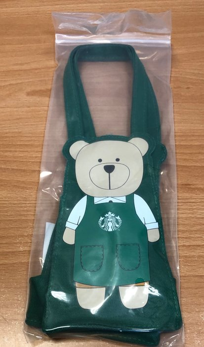 Starbucks 星巴克 Bearista隨行杯袋—-含運