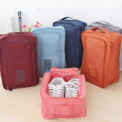 【Baby cat shop】韓國二代 旅行 防水加厚 便利 鞋袋 鞋子收納袋 旅行袋 兩色