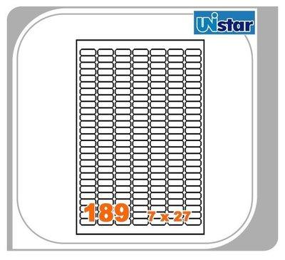 【量販10盒】裕德 電腦標籤 189格 US4344 三用標籤 列印標籤 量販型號可任選