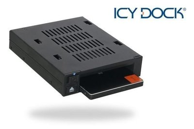 "{MPower} 台灣名廠 ICY Dock MB521SP-B 專業級 2.5"" SATA SAS HDD SSD Mobile Rack 硬碟抽取盒 - 原裝行貨"