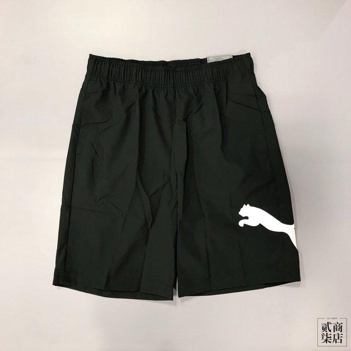 (貳柒商店) Puma Sports Short 男款 黑色 短褲 基本款 防風 運動褲 84417901