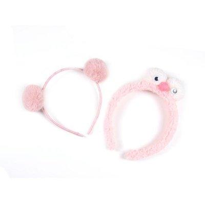 糯米公主女童發箍可愛超萌寶寶頭飾兒童頭箍甜美發飾秋冬發窟