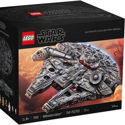 最後一盒 Lego 75192 連啡箱