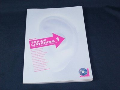 【懶得出門二手書】《Top-Up Listening 1》ISBN:189694213X(附光碟)│(11F35)
