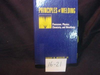 【愛悅二手書坊 16-21】PRINCIPLES of WELDING