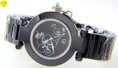 (六四三精品)錶徑3.8公分.高檔黑陶...