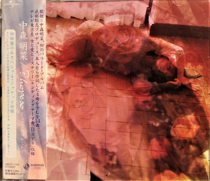 中森明菜 --- I hope so ~ 日版已拆近全新, CD狀況如圖示