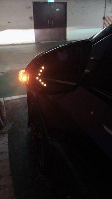 LED 轉向 後照鏡片 防眩 廣角後視鏡 方向燈汽車後視鏡 TOYOTA Camry Altis Yaris Vios