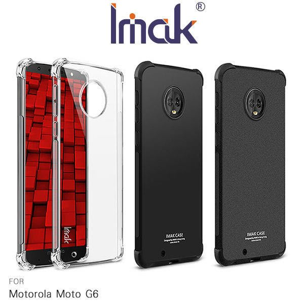 *PHONE寶*Imak Motorola Moto G6 Plus/Moto G6 全包防摔套(氣囊) 四角氣囊 保護